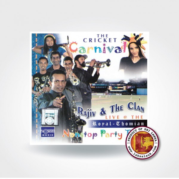 MUSIC AUDIO CD RAJIV & THE CLAN-NONSTOP PARTY TIME