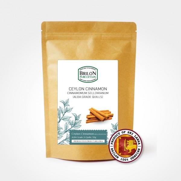 Brilon Cinnamon Quills 50g Alba Grade