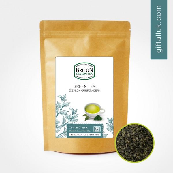 Brilon Green Tea Gunpowder Loose Tea 50g