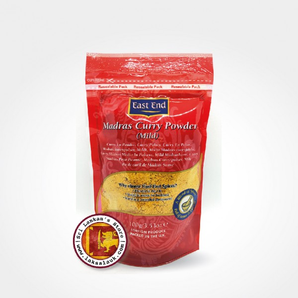 East End Madras Curry Powder Mild 100g