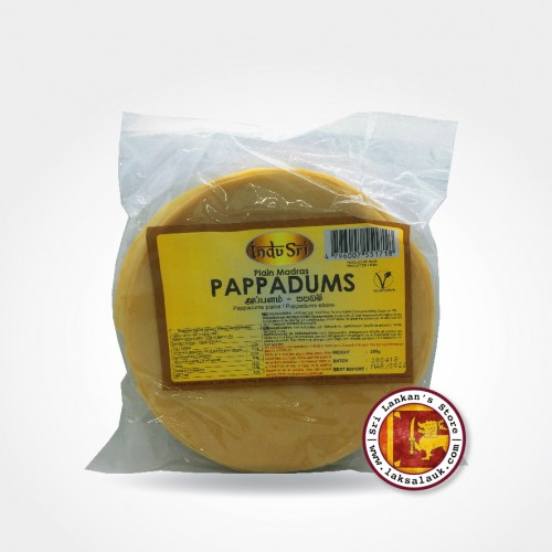 Indu Sri Pappadums 200g