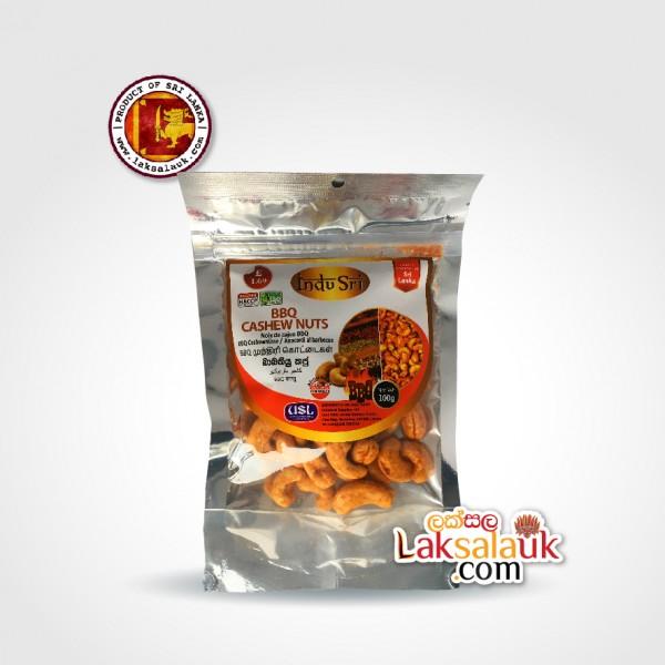 Indu Sri BBQ Cashew Nuts 100g