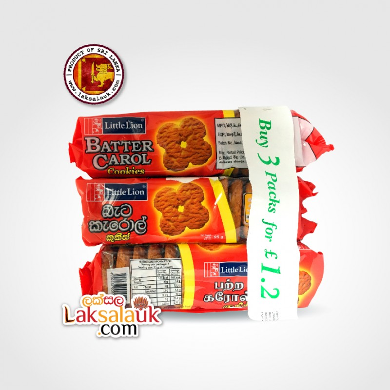Little Lion Batter Carol 3 Packets