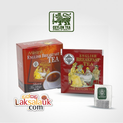Mlesna English Breakfast Tea 50g - 10 tea bags (Black Tea)