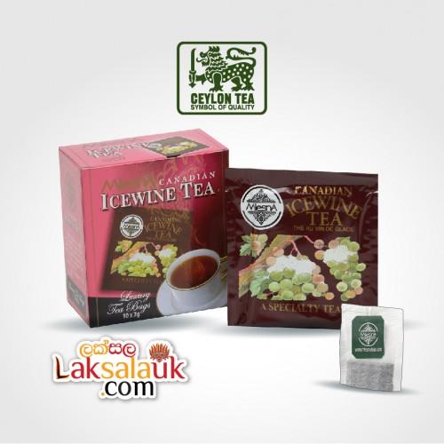 Mlesna Ice Wine Tea 50g - 10 flavoured tea bags (Black Tea)
