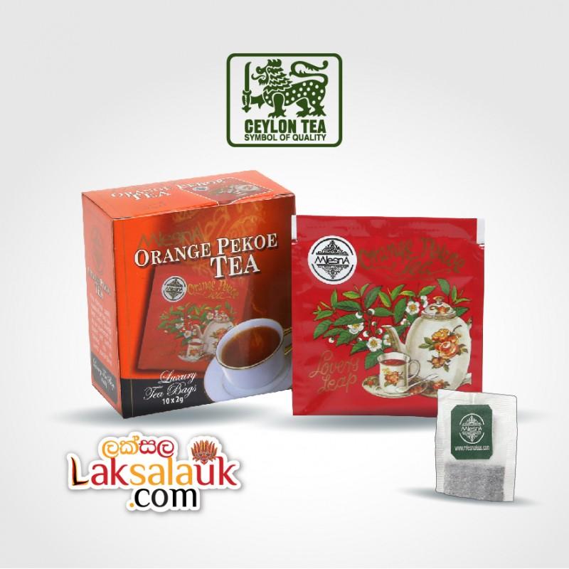 Mlesna Orange Pekoe Tea 50g - 10 tea bags (Black Tea)