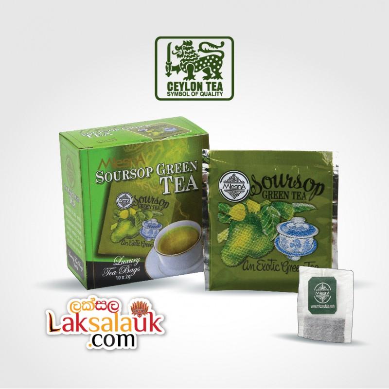 Mlesna Soursop Tea 50g - 10 tea bags (Black Tea)