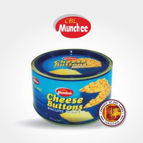 Munchee Cheese Buttons Tin 260g