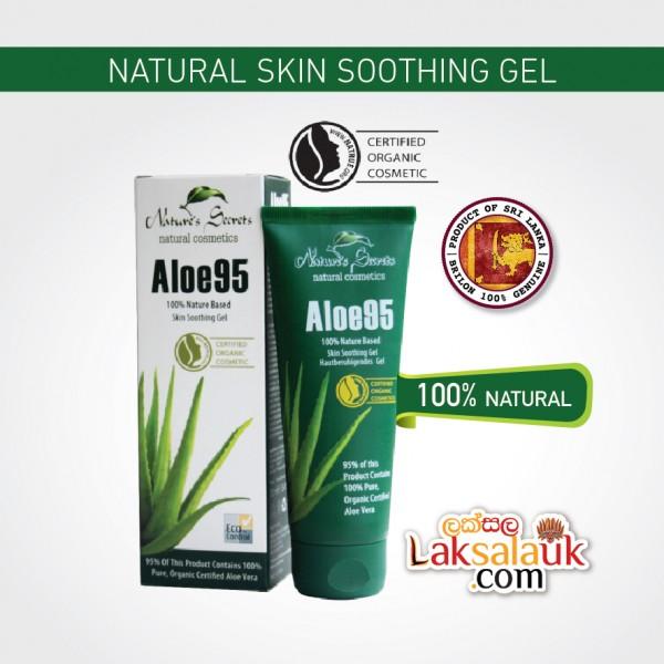 Nature's Secrets Aloe95 Skin Soothing Gel - 100% Nature Based