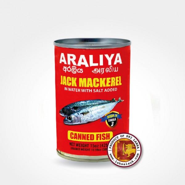 Araliya Jack Mackerel in Brine 425g