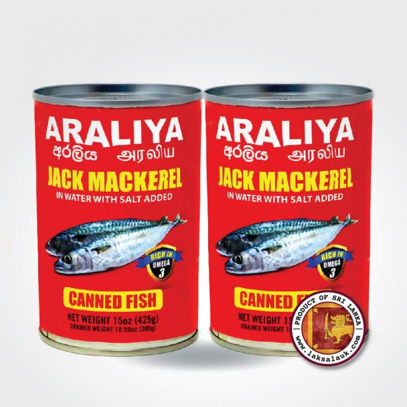 Araliya Jack Mackerel in Brine (425gX2)