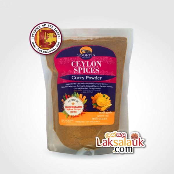 Curry Powder Sooriya Spices 200g