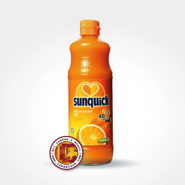Sunquick Orange Cordial Drink Bottle 840ml